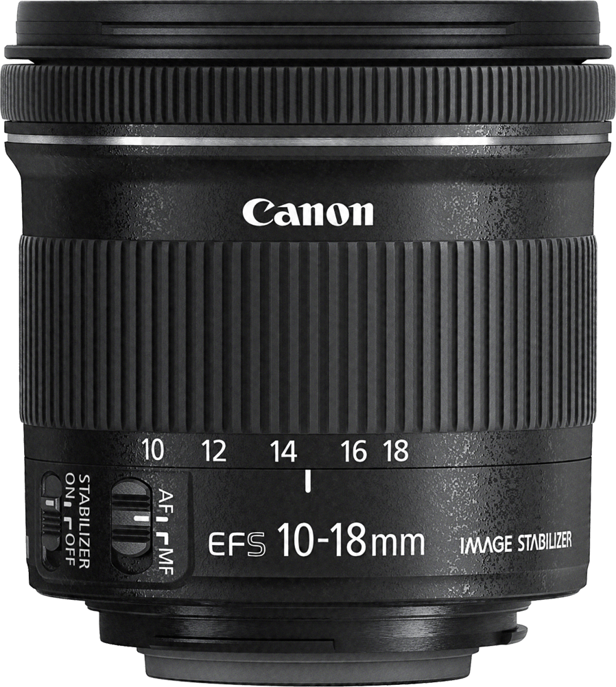 Canon 10-18mm Lens Close up